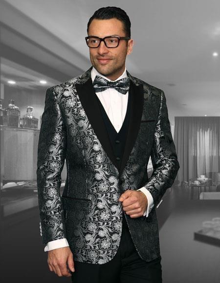 Mens Big And Tall Plus Size Sport Coats Jackets Black Blazer