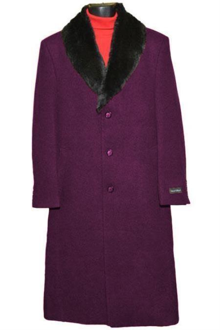 mens big and tall overcoats Burgundy ~ Wine ~ Maroon Trench Coat