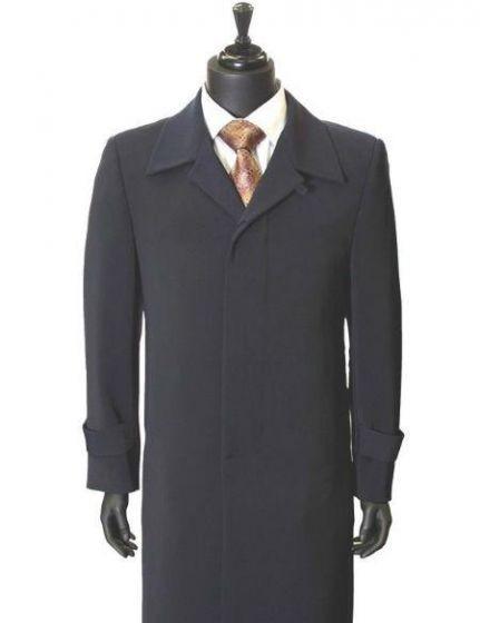 All Weather Gaberdine Trendy Microfiber Trench Top Coat