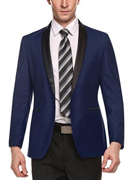 Alberto Nardoni Long Sleeve Business Blazers In Dark Blue