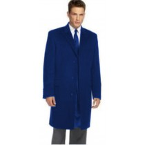 Navy Blue Slim fit Overcoat That Offers A Sleek, Modern Style Carcoat