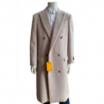 Double breasted Suit Full length Overccoat Mens OVercoat