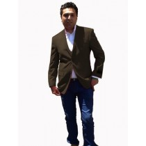 Mens Sport Coat / Dinner Jacket Blazer Vented Charcoal