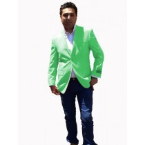 Mens Sport Coat / Dinner Jacket Blazer Vented Live Green