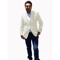 Mens Sport Coat / Dinner Jacket Blazer Vented Off White
