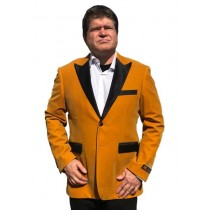 Men's Gold Velvet ~ Velour Clearance Big And Tall Blazers
