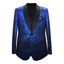 Mens Fashion Big And Tall Plus Size Sport Coats Jackets Royal