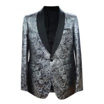 Mens Big And Tall Plus Size Sport Coats Jackets Blazer Silver