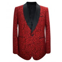 Mens Fashion Big And Tall Plus Size Sport Coats Jackets Red