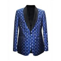 Mens Big And Tall Plus Size Sport Coats Jackets Blazer Royal