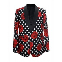 Mens Fashion Big And Tall Plus Size Sport Coats Jackets Black