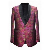 Mens Fuchsia Fashion Big And Tall Plus Size Sport Coats Jackets