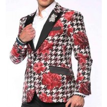 Mens Big And Tall Plus Size Sport Coats Jackets Red Blazer