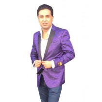 Mens Big And Tall Plus Size Sport Coats Jackets Blazer Purple