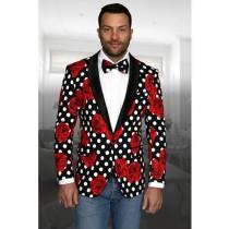 Mens Jackets Blazer Big And Tall Plus Size Sport Coats Black
