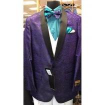 Mens Big And Tall Plus Size Sport Coats Jackets Blazer Purple