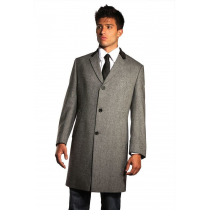 Chesterfield Coat Chesterfield Wool and Cashmere Overcoat gray overcoat