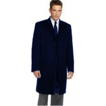 Dark Navy Slim fit Overcoat That Offers A Sleek, Modern Style Carcoat