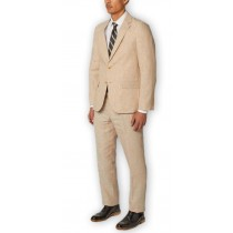 Alberto Nardoni Fully Lined Natural Wool Overcoat