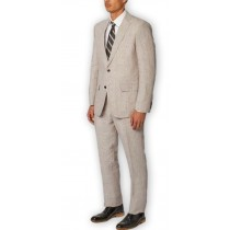 Alberto Nardoni Fully Lined Wool Gray Overcoat