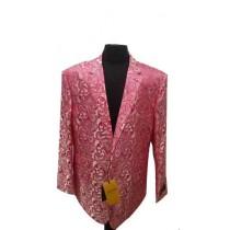 Alberto Nardoni Fuchsia Paisley Dinner Jacket Tuxedo