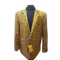 Alberto Nardoni Gold Men's Shiny Dinner Jacket