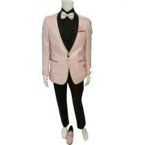 Mens Pink Jacket Tuxedo Blazer Notch lapel Sport coat
