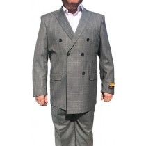 Alberto Nardoni Double Breasted Buttons Closure Gray coat