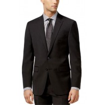 Alberto Nardoni Two Button Closure Slim Fit Suit In Charcoal