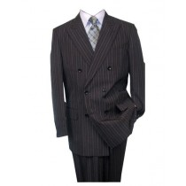 Button Closure Charcoal Alberto Nardoni Wool Suit