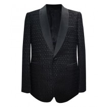 Black Shawl Lapel Alberto Nardoni Sport Coat Blazer