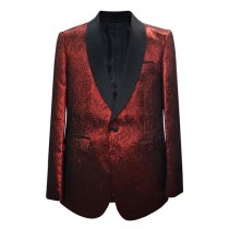 Shawl Lapel Alberto Nardoni  In Red