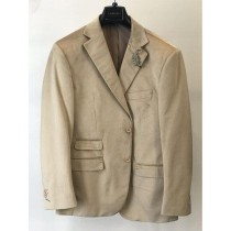 Mens Velvet  Coat   Sand ~ Tan ~ Khaki Jacket