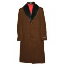 Mens Brown Big And Tall Trench Coat Raincoats Overcoat - Mens Topcoat