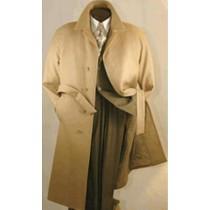 length belt woll over coat