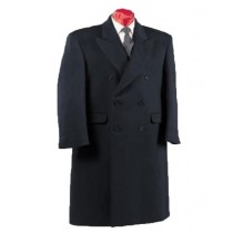 Alberto Nardoni Double Breasted Wool Long Overcoat