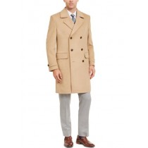 Mens Double Breasted Lumber Classic-Fit Peacoat