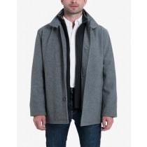 Big & Tall Wool Blend Bib Medium Gray Carcoat