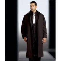 Polyester/Nylon Full sleeves long coat Rain Coat-Trench Coat