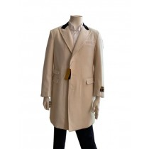 peacoat - Mens carcoat Cashmere Topcoat + off-white By Alberto Nardoni