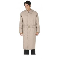 Mens Full Belt Raglan Sleeves Tan Trench Coat