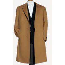 Harward Luxurious Camel Cashmere & Wool Overcoat