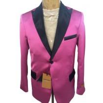Mens Pink ~ FuchsiaTwo Button Blazer