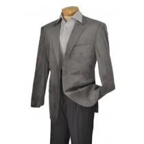 Alberto Nardoni Brand Gray Velvet Sport Coat