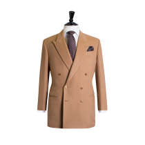 Men's 2 Button Lamb Wool Cashmere Vicuna - Coat