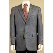 SINGLE BREAST GREY SPORT COAT BLAZER