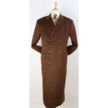 Mens - Light Brown - Vicuna - Coat 100%