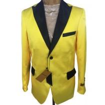Mens Yellow Cheap Priced Designer Fashion Dress Casual Blazer On Sale Blazer
