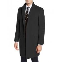 Three-Quarter To Kneed-Mens Wool Car Coat-Pea Coat By Nardoni