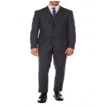 Navy Slim Fit Peak Blinder Custom Vested Suit